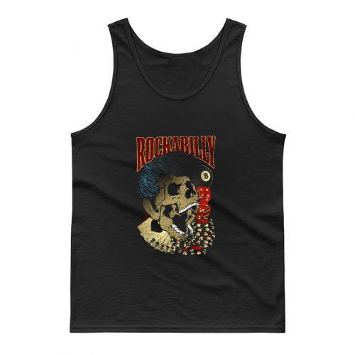 Rockabilly Skull Tank Top
