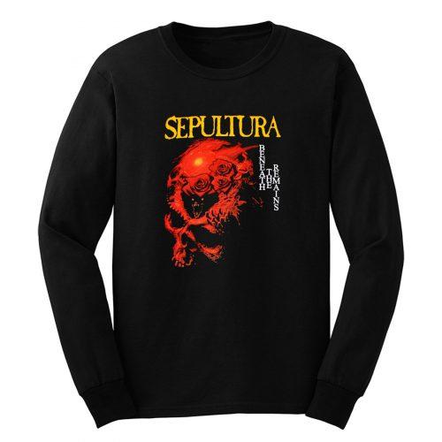 Sepultura Beneath The Remains Soulfly Cavalera Death Metal Long Sleeve