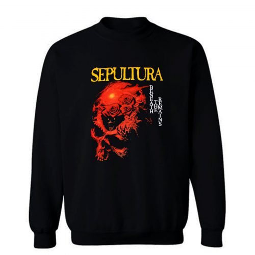 Sepultura Beneath The Remains Soulfly Cavalera Death Metal Sweatshirt