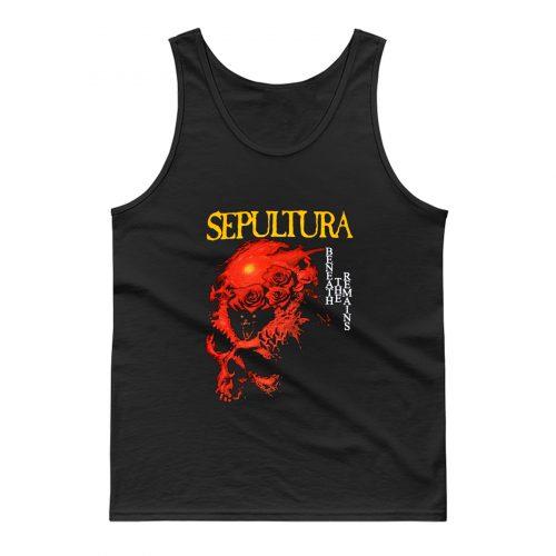 Sepultura Beneath The Remains Soulfly Cavalera Death Metal Tank Top