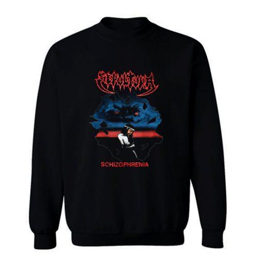 Sepultura Schizophrenia Soulfly Cavalera Conspiracy Sweatshirt