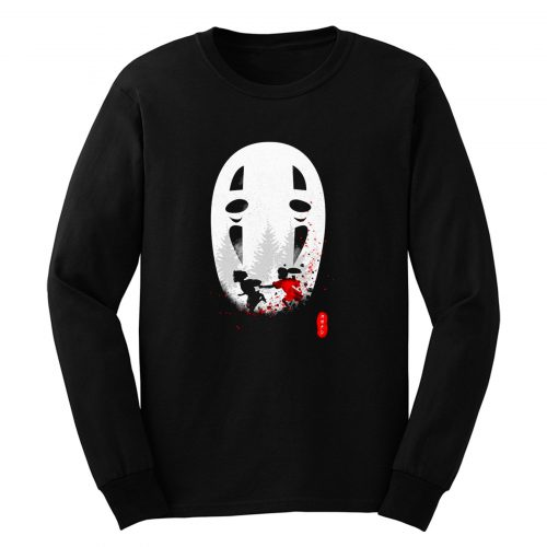 Spirited Away No Face Long Sleeve