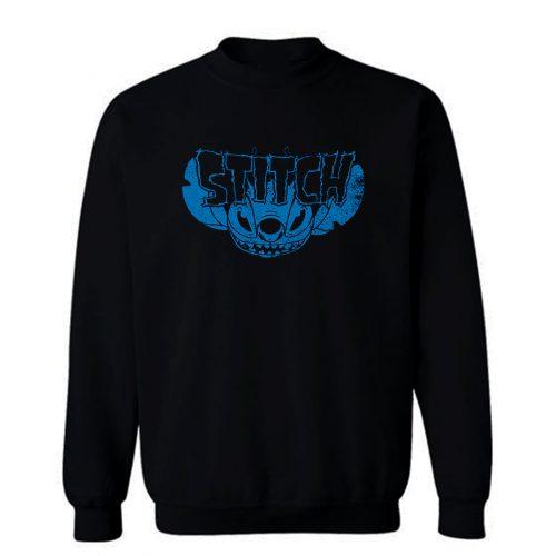 Stitch Heavy Metal Sweatshirt