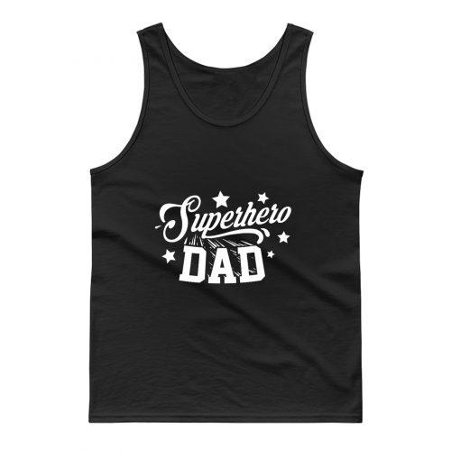 Superhero Dad Tank Top