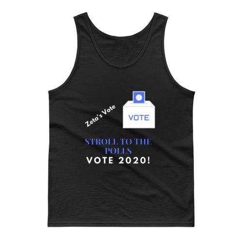 Zeta Stroll To The Polls Election Voting Sorority Tank Top