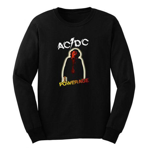 Acdc Ac Dc Powerage Rock Band Long Sleeve