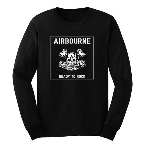 Airbourne Ready To Rock Hard Rock Long Sleeve