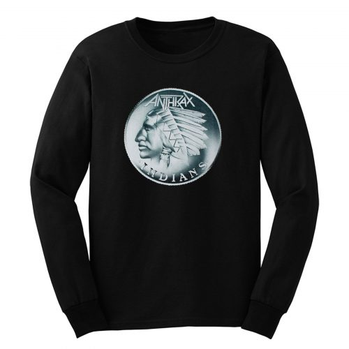 Anthrax Indians Long Sleeve