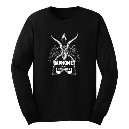 Baphomet Is My Homeboy Long Sleeve