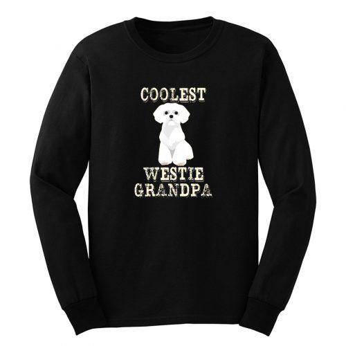 Coolest Westie Grandpa Long Sleeve