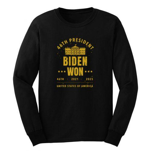 Election Night Winner Joe Biden President Long Sleeve