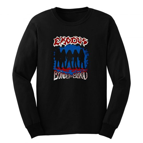 Exodus Bonded By Blood Long Sleeve