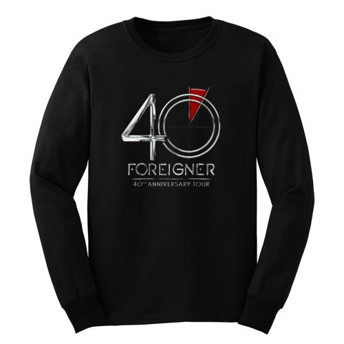 Foreigner 40th Anniversary Tour Long Sleeve