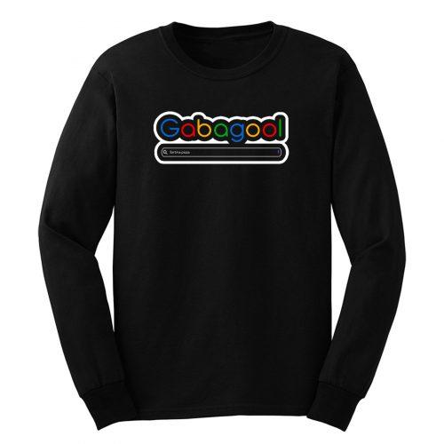 Gabagool Google Fortina Pizza Long Sleeve
