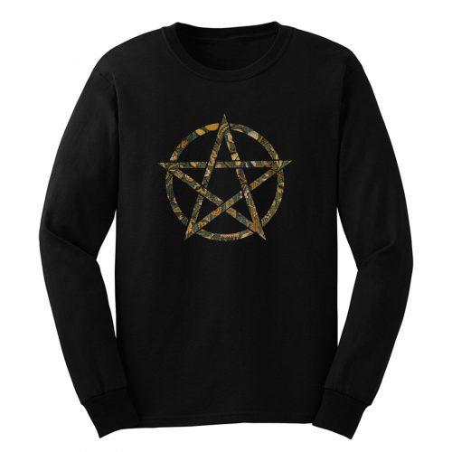 Garden Print Pentagram Long Sleeve