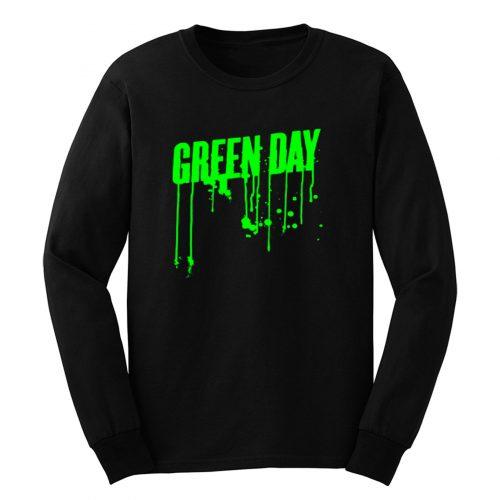 Green Day Green Drip Long Sleeve