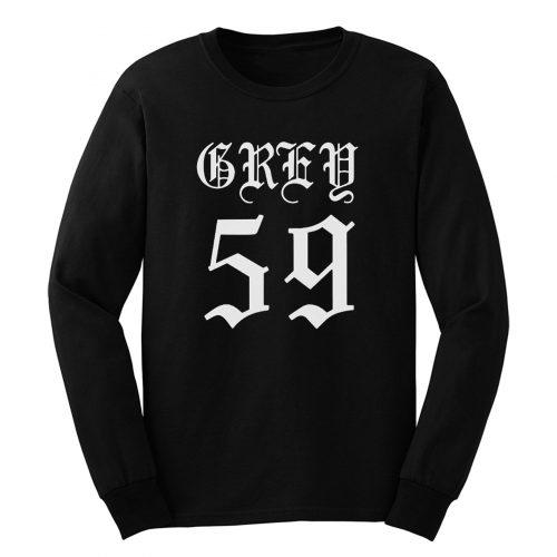 Grey 59 Suicideboys Long Sleeve