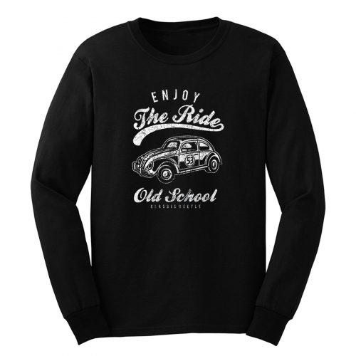 Herbie 53 The Bug Love Classic Beetle Vw Car Long Sleeve