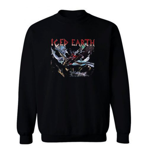 Iced Earth Night Of The Stormrider Sweatshirt