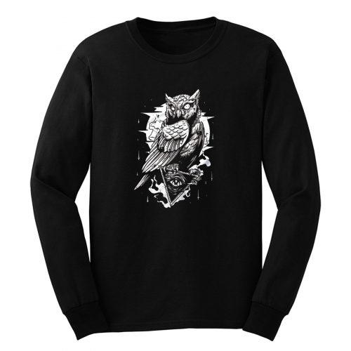 Illuminati Owl Long Sleeve