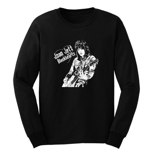 Joan Jett And The Black Hearts Long Sleeve