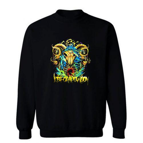 Job For A Cowboy Metal Rock Sweatshirt