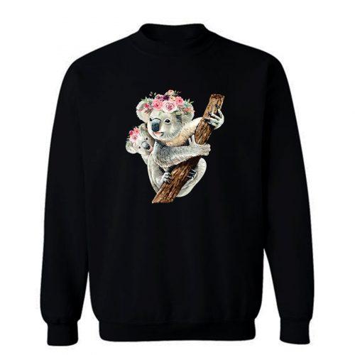 Koala Bear Mom Baby Koala Bear Sweatshirt
