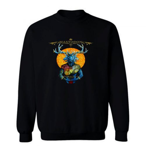 Mastodon Blood Mountain Metal Sweatshirt