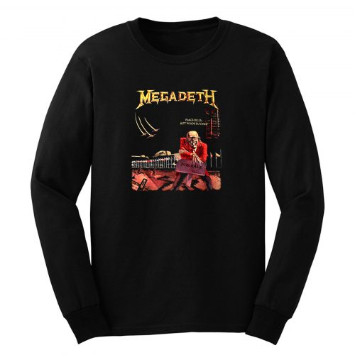 Megadeth Peace Sells But Whos Buying Long Sleeve