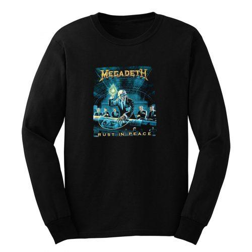 Megadeth Rust In Peace Long Sleeve