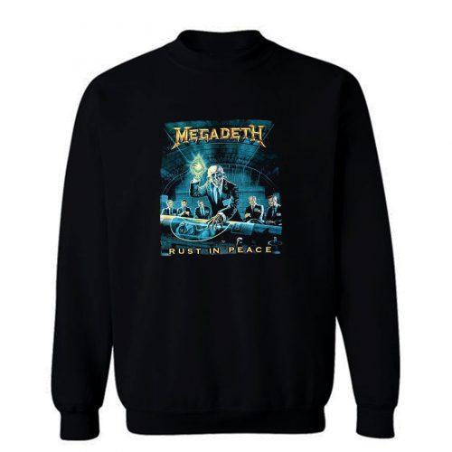 Megadeth Rust In Peace Sweatshirt