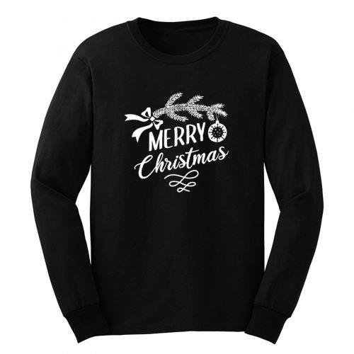 Merry Chrismas Long Sleeve