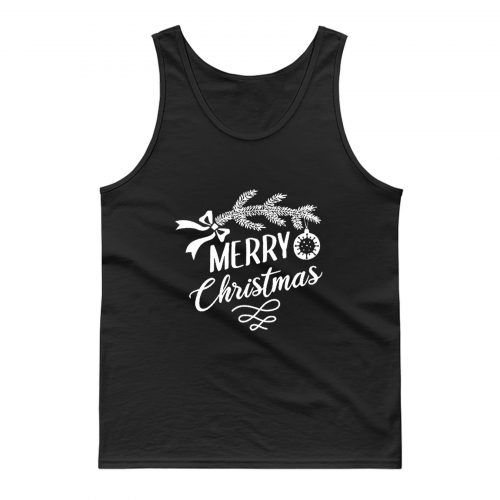 Merry Chrismas Tank Top