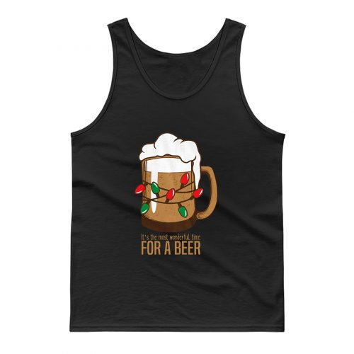 Most Wonderful Time For A Beer Tank Top