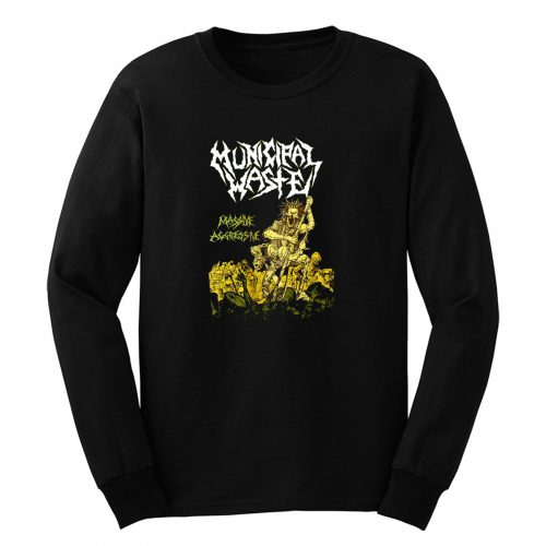 Municipal Waste Massive Agressive Long Sleeve