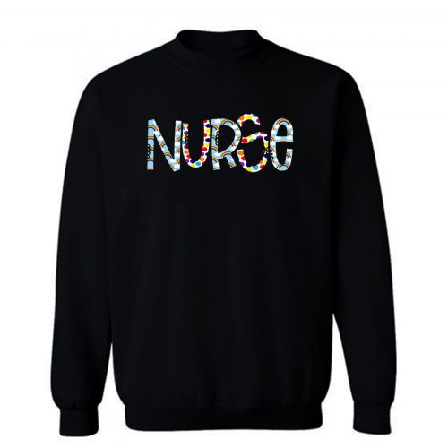 Nurse Rainbow Sweatshirt