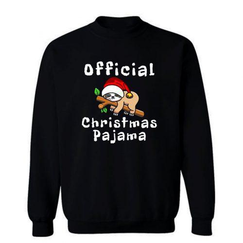 Official Christmas Pajama Sweatshirt
