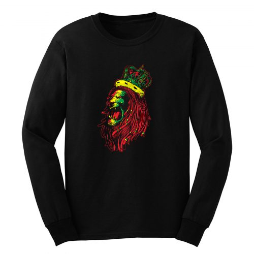 Rasta Reggae Lion Long Sleeve