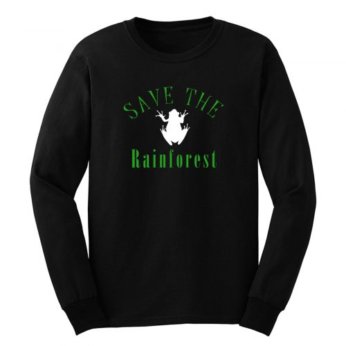 Save The Rainforest Frog Long Sleeve