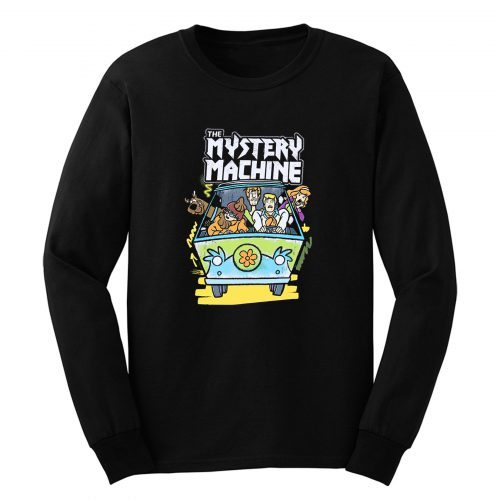Scooby Doo Shaggy Mystery Machine Long Sleeve