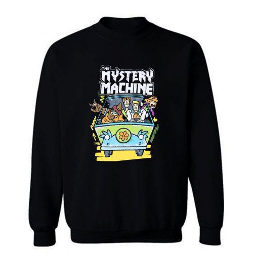 Scooby Doo Shaggy Mystery Machine Sweatshirt