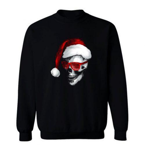 Skull Santa Claus Sweatshirt