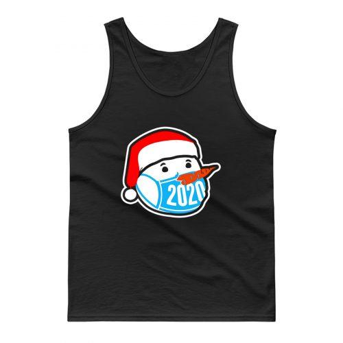 Snowman Wearing Face Mask Christmas 2020 Tank Top
