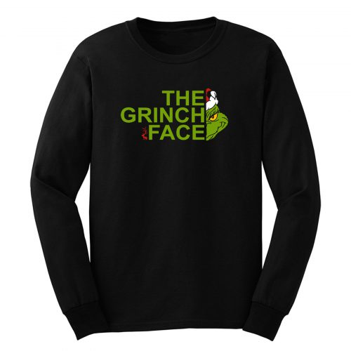The Gr1nch Face Long Sleeve