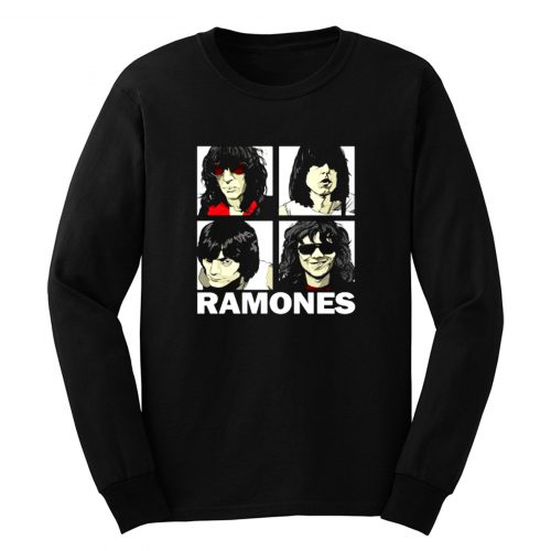 The Ramones Personels Roc Long Sleeve