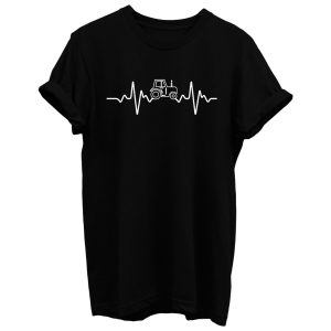 Tractor Heartbeat T Shirt