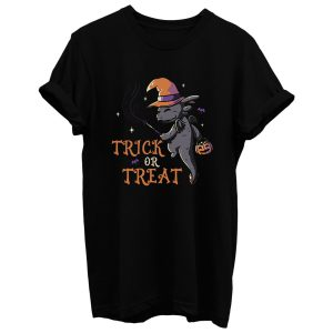 Trick Or Treat Funny Cute Spooky T Shirt