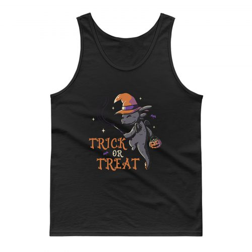 Trick Or Treat Funny Cute Spooky Tank Top