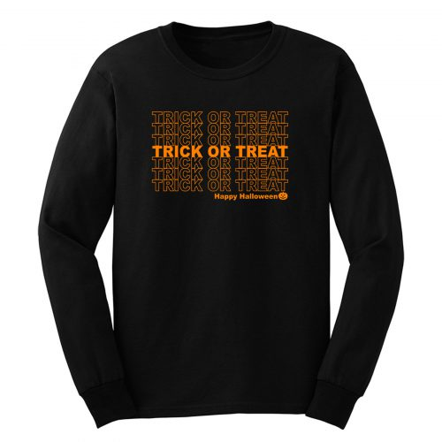 Trick Or Treat Long Sleeve