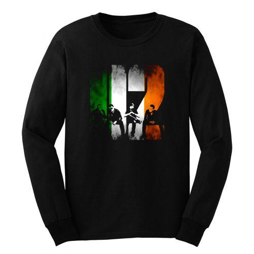 U2 Iris Flag Rock Band Legend Long Sleeve